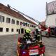 Vatrogasci na Trgu svetog Marka u Zagrebu (JVP Grada Zagreba)
