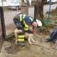 Vatrogasac i pas (JVP Mali Lošinj)