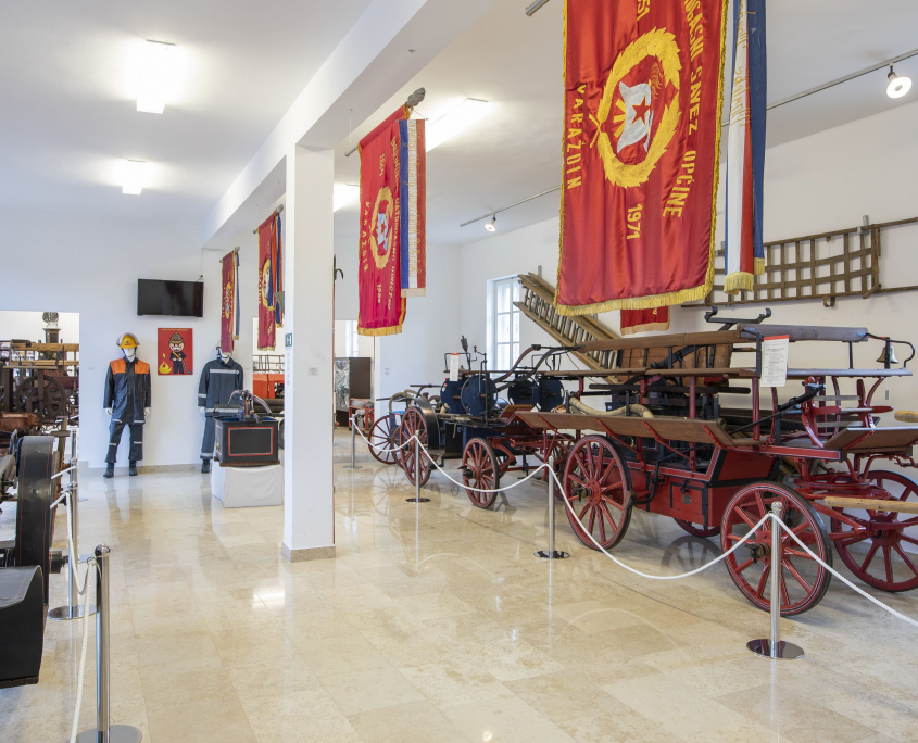 Detalj iz prizemlja Muzeja