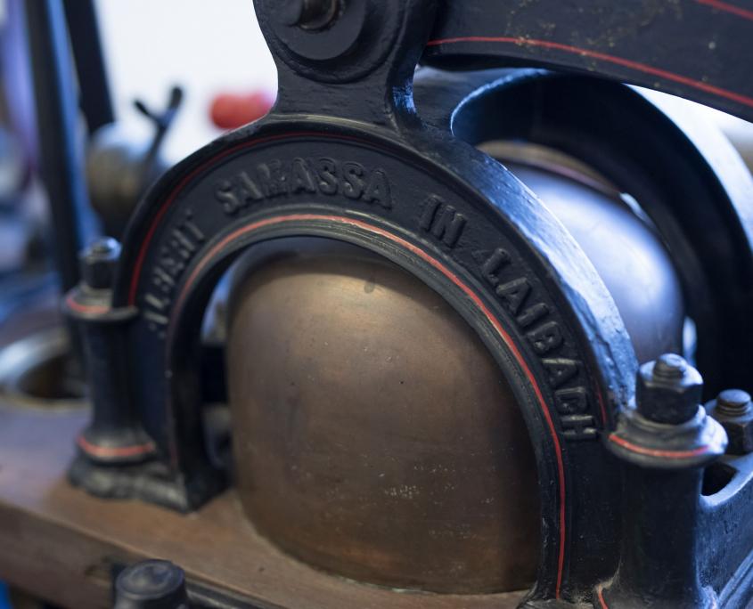 Detalj ručne vatrogasne štrcaljke